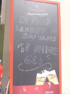 Oferta Gamboa: 18 langostinos salvajes 6 €