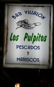 Bar Villalón. Los pulpitos