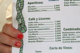 Café y licores