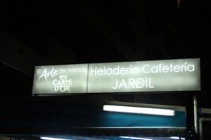 Heladería cafetería El Jardil