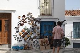 Tienda de artesanía de la zona
