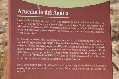 Notas sobre el acueducto del Águila