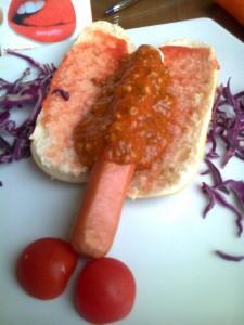pene en salsa