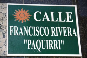 "Calle Francisco Rivera ""Paquirri"""
