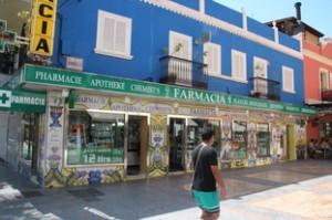 Farmacia calle Marbella Fuengirola