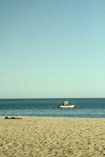 En esta foto e ve que está muy cerca de la playa