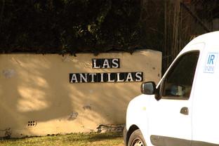 """Letrero de """"Las Antillas"""""""