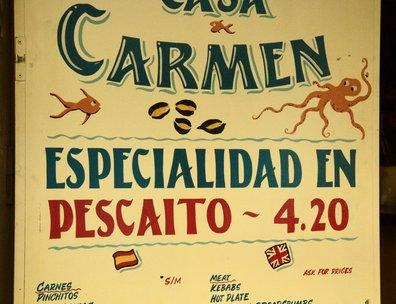 Especialidad en pescaíto 4.20€