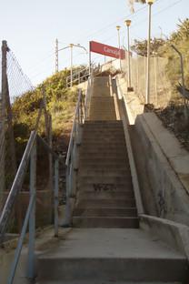 Las escaleras que desaniman