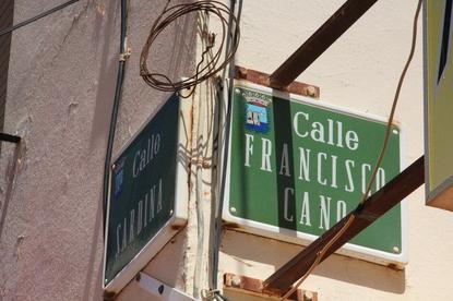 Calle Francisco cano esquina