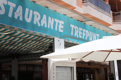 Toldo del restaurante Trefpunt