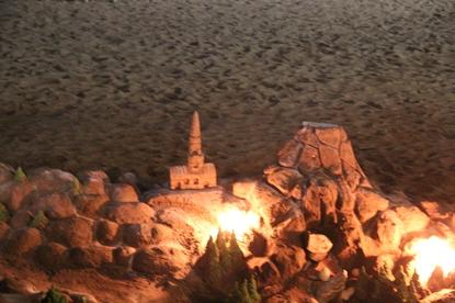 Incendios en la arena