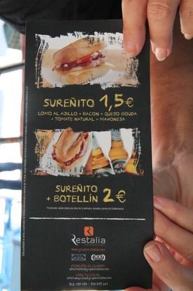 Sureñito 2,5€