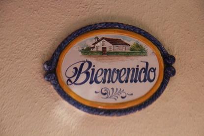"""Bienvenido del bar """"El Río"""""""