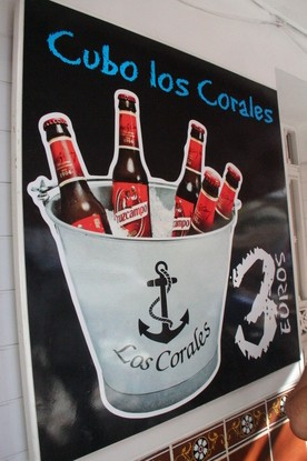 """Otra oferta: cubo de cinco botellines """"Cruz Campo"""" 3€"""