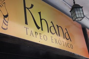 khana, tapeo exótico