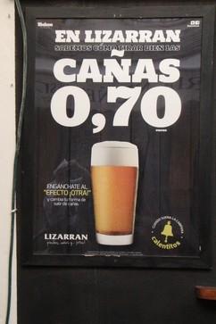 Oferta: cañas 0,70€