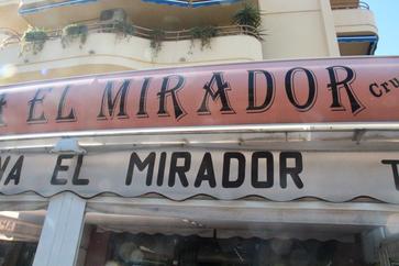 Fachada de El Mirador