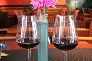 El vino es ybo joven de Palacio de Sada. De Navarra.