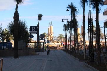 El puerto visto desde la terraza de Oraná
