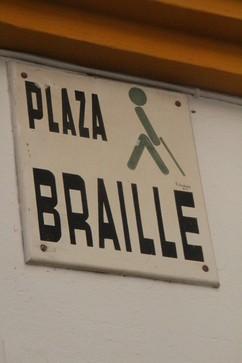 Plaza Braille