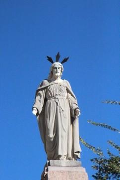 Estatua Sagrado Corazón