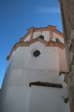 Detalle de la iglesia de la Asunción