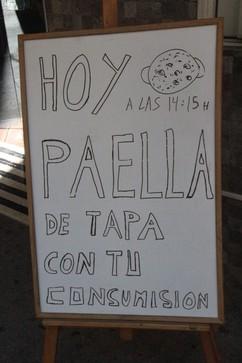 Paella como tapa