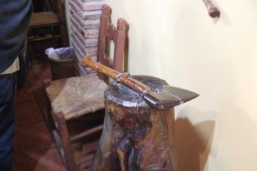 Antiguos utensilios de la matanza