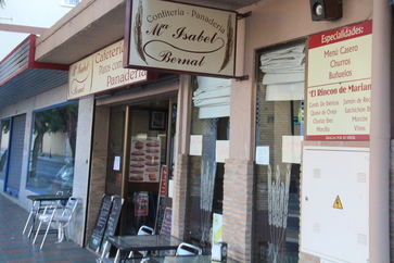 Mª Isabel Bernal, confitería pastelería