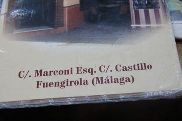 C/ Marconi esquina Calle Castillo