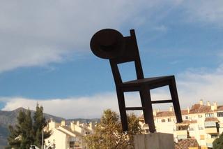 Detalle de la silla