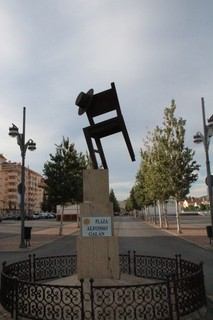 Silla plaza