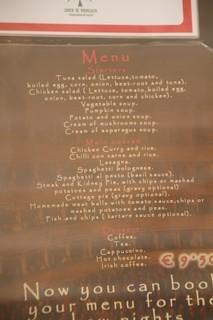 Menú del día 9,50€