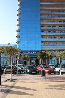 Hotel Yaramar desde el chiringuto Rivera