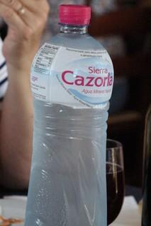 Agua de Cazorla. ¡Qué fresca!