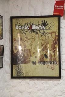 poster del grupo musical del dueño: Los Inkilinos