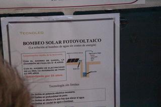 En la almazara utilizan la energía solar