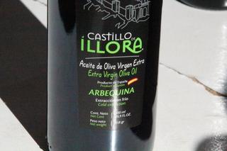 Aceite de oliva con variedad arbequina