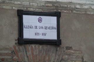 Iglesia de los remedios siglos