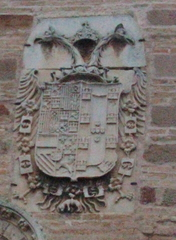 Escudo Carlos V de la Torre del Reloj