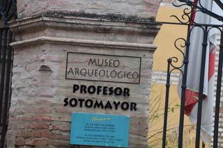 Museo arqueológico profesos Sotomayor. Cunado llegamos estaba cerrado.