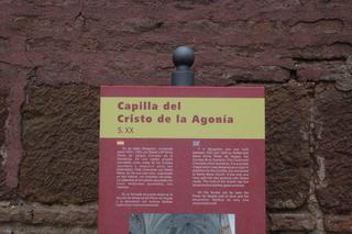 Capilla del cristo de la agonia, muy cerca de la Torre del Reloj