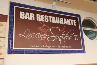 Bar Restaurante Los Cinco Sentidos II