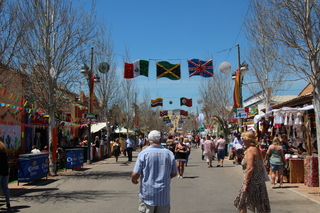 Aspecto de la Feria
