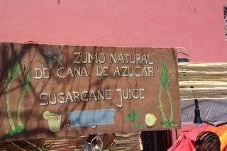 Zumo de caña de azúcar