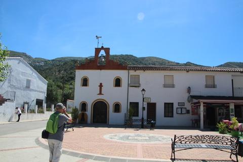 Iglesia y plaza de San Roque