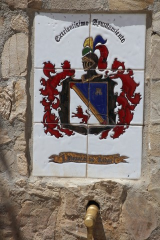 Escudo de la fuente