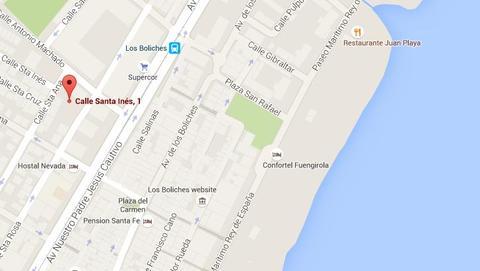Mapa gentileza de Google Maps