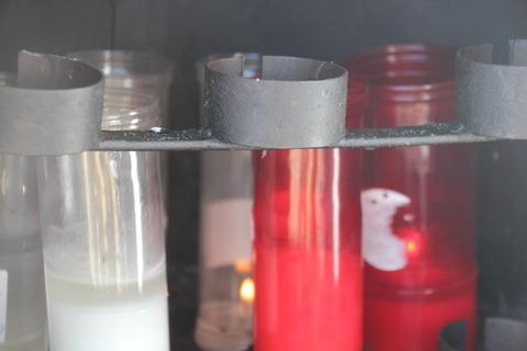 Velas dedicadas al santo